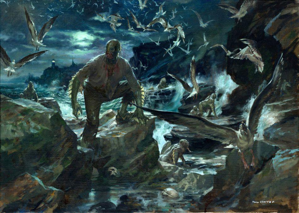 Краткое содержание Говард Лавкрафт «Тень над Иннсмаутом»