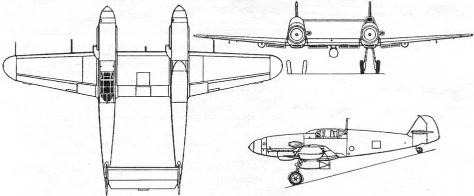 Схема Bf.109Z