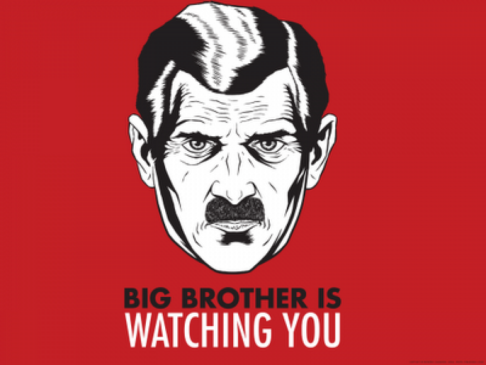 the governments power in the novel 1984 by george orwell