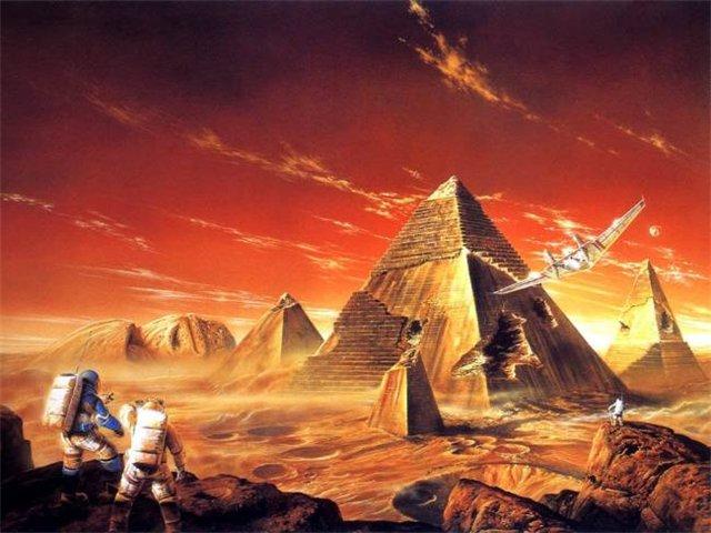 Книга «Марсианские хроники» Рэя Брэдбери