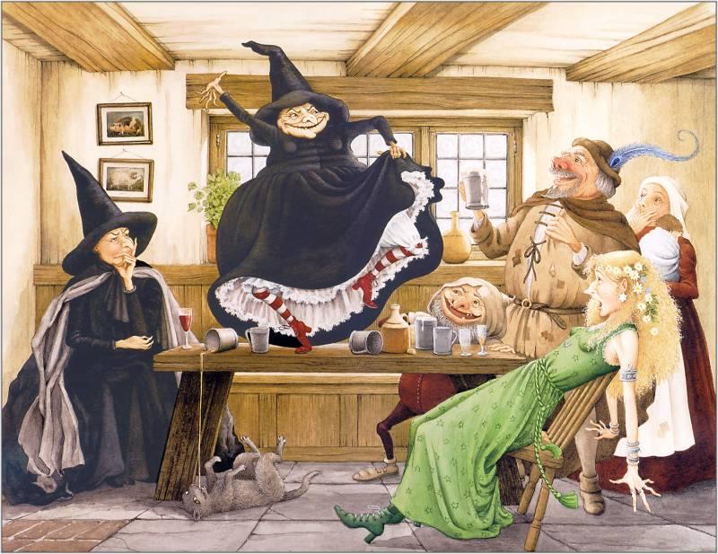 «Ведьмы за границей»: сюжет