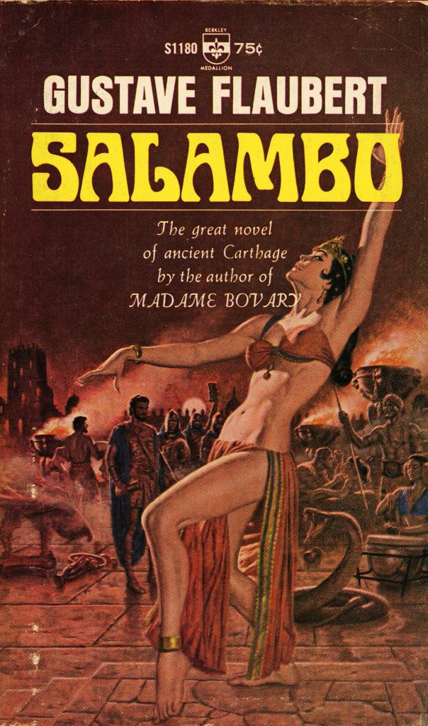 Краткое содержание роман Гюстава Флобера «Саламбо»