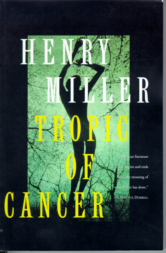 Рецензия на роман Генри Миллер «Тропик рака»