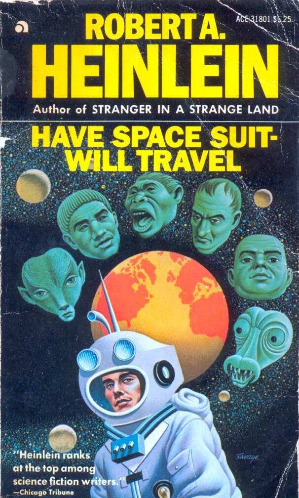Рецензия на роман Роберта Хайнлайна «Имею скафандр — готов путешествовать»