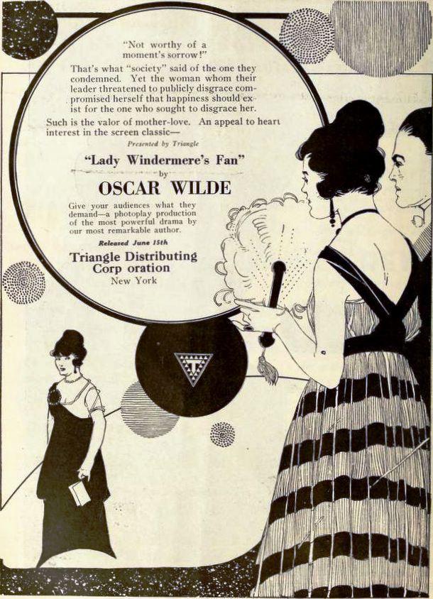 Уайльд Оскар «Веер леди Уиндермир» книга онлайн, короткое содержание