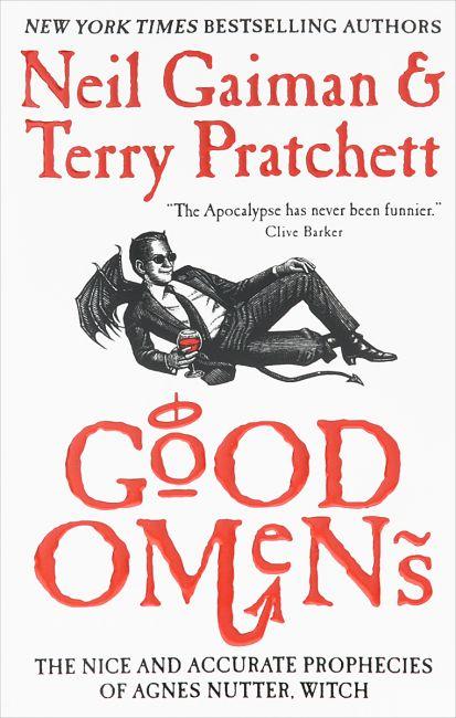 Терри Пратчетт, Нил Гейман «Добрые предзнаменования» о чем книга?