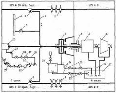 Схема монтажа переборочной захлопки