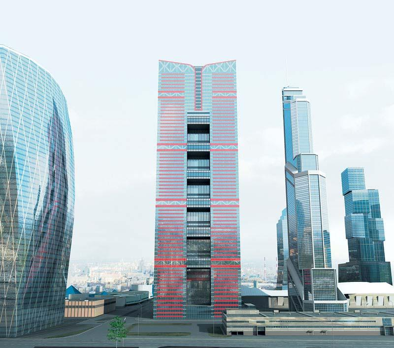 Башня думы Москва Сити